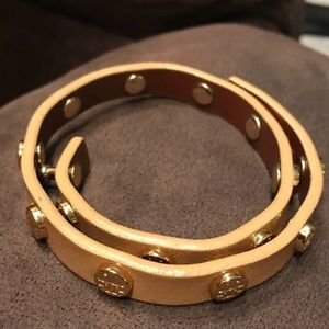 Tory Burch good used condition leather bracelet